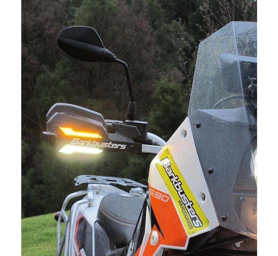 BarkBusters LED verlichting WIT - Set van 2