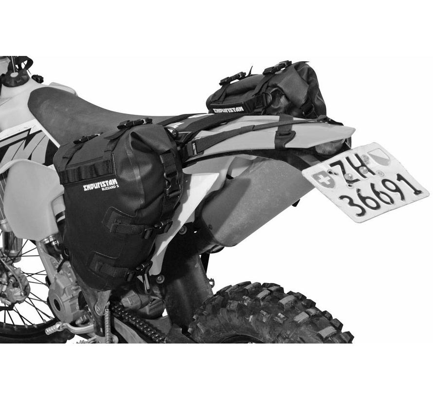 Enduristan Blizzard saddlebags - Perfect fit for an enduro!