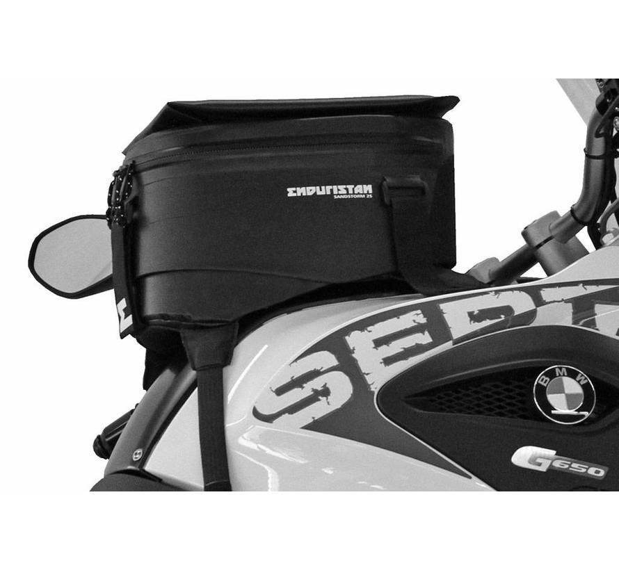 Enduristan Sandstorm 4S tankbag - 7-12liters, fully adjustable.