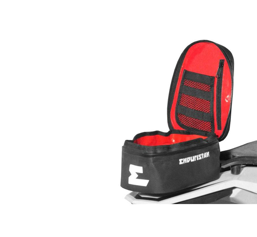 Enduristan Rally Pack - Small and compact, fits straight on the fender of an enduro or cross
