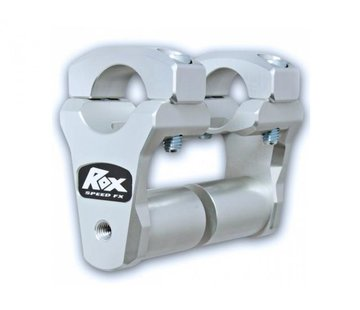 "RoxFXspeed - ROXrisers ROX 2"" Pivoting Bar Risers for 1 1/8"" Handlebar (with Extended Stem) (28mm handlebar)"