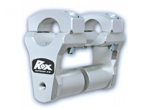 "RoxFXspeed - ROXrisers ROX 2"" Pivoting Bar Risers for 1 1/8"" Handlebar (with Extended Stem) (28mm stuur)"