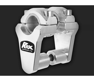 "RoxFXspeed - ROXrisers ROX Elite Pivoting Handlebar Riser 2"" Rise x 7/8"" Handlbar Clamp x 7/8"" or 1 1/8"" Handlebar (22 & 28mm handlebar)"