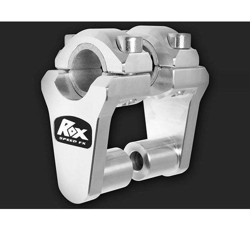"RoxFXspeed - ROXrisers ROX Elite Pivoting Handlebar Riser 2"" Rise x 7/8"" Handlbar Clamp x 7/8"" or 1 1/8"" Handlebar"