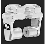 """RoxFXspeed - ROXrisers ROX Pivoting Handlebar Riser 2"""" Rise x 1 1/8"""" Handlebar Clamp x 1 1/8"""" Handlebar (28mm handlebar)"""