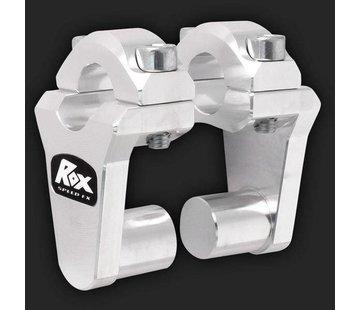 """RoxFXspeed - ROXrisers ROX Pivoting Handlebar Riser 2"""" Rise x 7/8"""" Handlebar Clamp x 7/8"""" Handlebar (22mm handlebar))"""