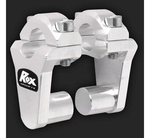 """RoxFXspeed - ROXrisers ROX Pivoting Handlebar Riser 2"""" Rise x 7/8"""" Handlebar Clamp x 7/8"""" Handlebar"""