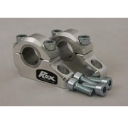 "RoxFXspeed - ROXrisers ROX Pro-Offset Elite Block Riser 1 1/4"" Up or 1"" Back for 7/8"" or 1 1/8"" Handlebars (22& 28mm handlebar"