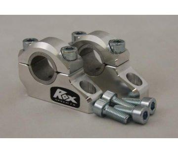"""RoxFXspeed - ROXrisers ROX Pro-Offset Elite Block Riser 1 1/4"""" Up or 1"""" Back for 7/8"""" or 1 1/8"""" Handlebars (22& 28mm handlebar"""