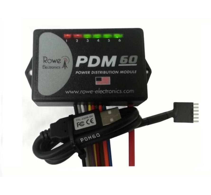 Rowe Electronics PDM60 - Power Distribution Module - Fuse Block Replacement
