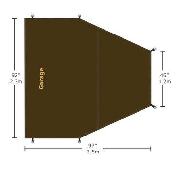 Redverz Redverz Grondzeil voor de Atacama en Solo Tent (Garage)