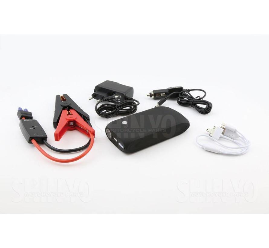 Jumpstarter / powerbank / battery booster - CP-14 - 9.000 mAh (398-301)