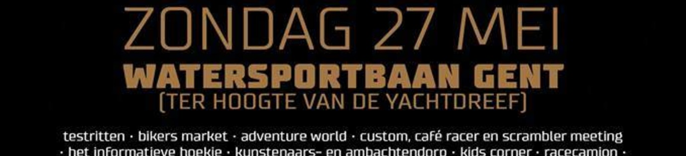 Ghent Motor Events 2nd edition