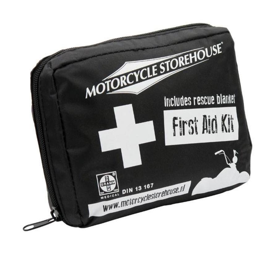 MCS Eerste Hulp kit - First Aid - Speciaal samengesteld voor de motorfiets