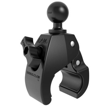 "RAM Mounts RAM Small Tough-Claw with 1"" Rubber Ball"