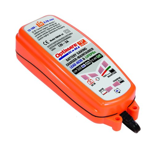OptiMate OptiMate DC to DC / 12V Battery, DC supply to 12V (lead acid) or 12.8-13.2V (LFP-Lithium) Battery Charger