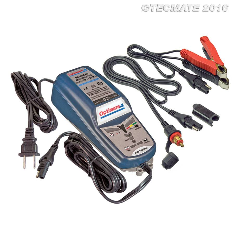 OptiMate OptiMate 4 CAN-bus edition / 8,9-step 12V 1A battery Saving  charger-tester-maintainer