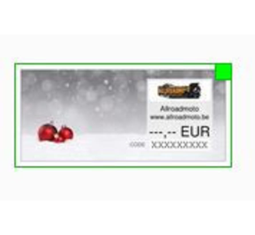 Cadeaubon €25 - Allroadmoto