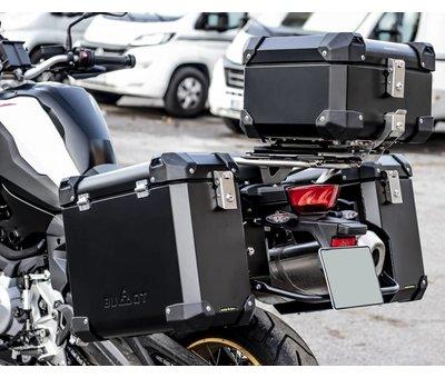 BUMOT BUMOT Defender EVO topkoffer voor BMW F850 GS / GSA + Montageplaat