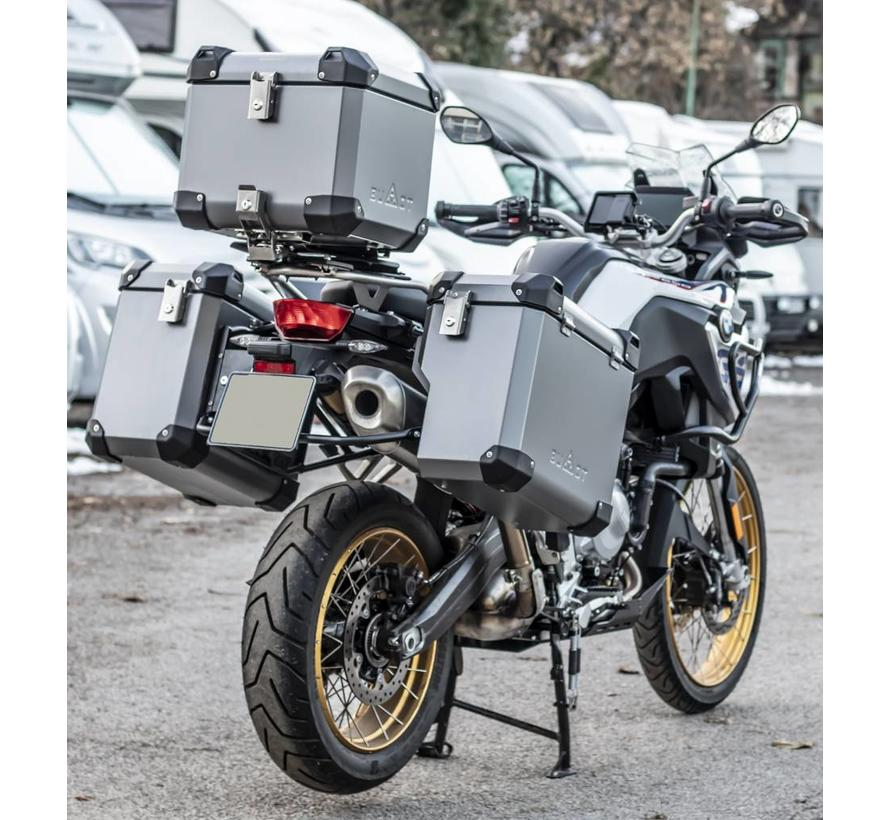 BUMOT Defender EVO topcase for BMW F850 GS / GSA + Mountingplate
