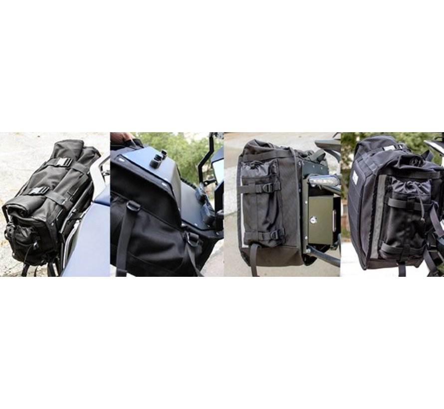 De Xtremada series van BUMOT - Soft-luggage voor de ECHTE avonturier