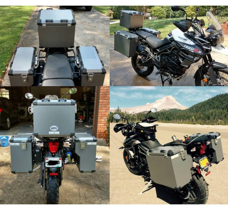 BUMOT Toolbox Triumph Tiger 800 Series