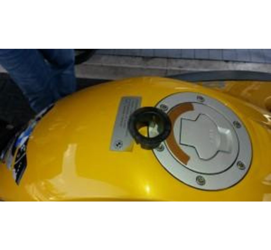 Guglatech Fuelfilter HDM3D XXL R1200 GS (Steel Fillerneck)