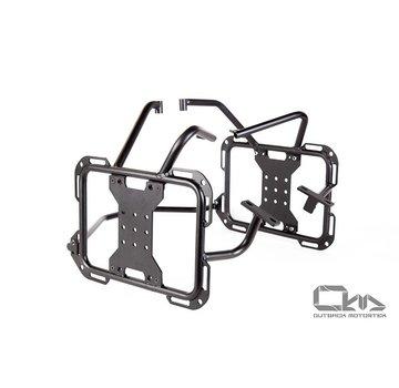 Outback Motortek Outback Motortek X-Frames pannier rack/Soft luggage rack – BMW F650/F700/F800GS