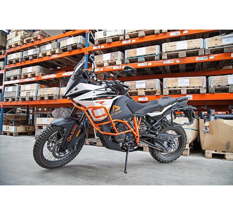 Outback Motortek Zijkofferrek – KTM 1050/1090/1190/1290(R) Adventure - X-Frames
