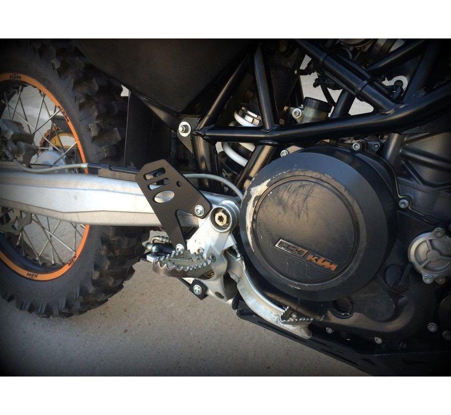 Perun Moto KTM 690 Enduro / Husqvarna 701 Heel Guards