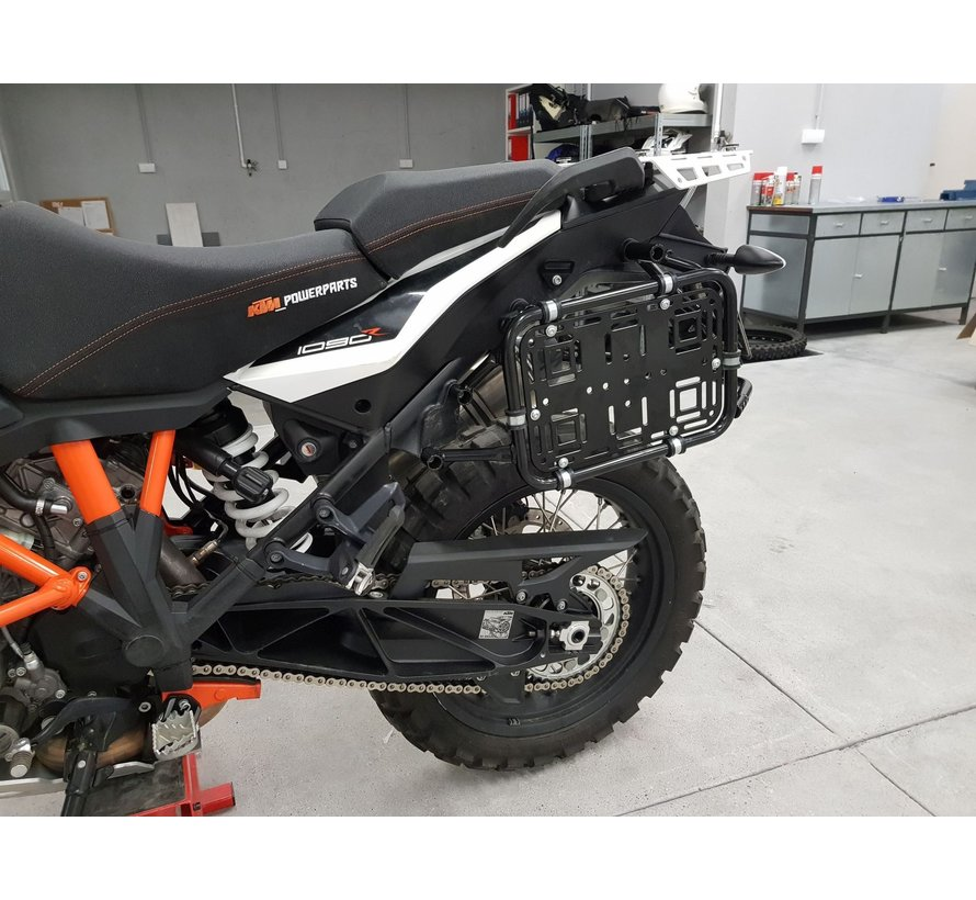 Perun Moto Side rack plate
