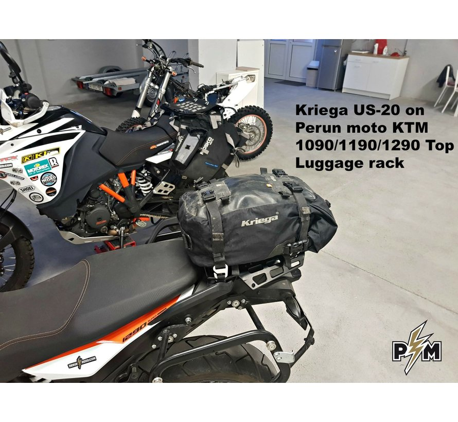 Perun Moto KTM 790/1X90 Top luggage rack - Bagagerek