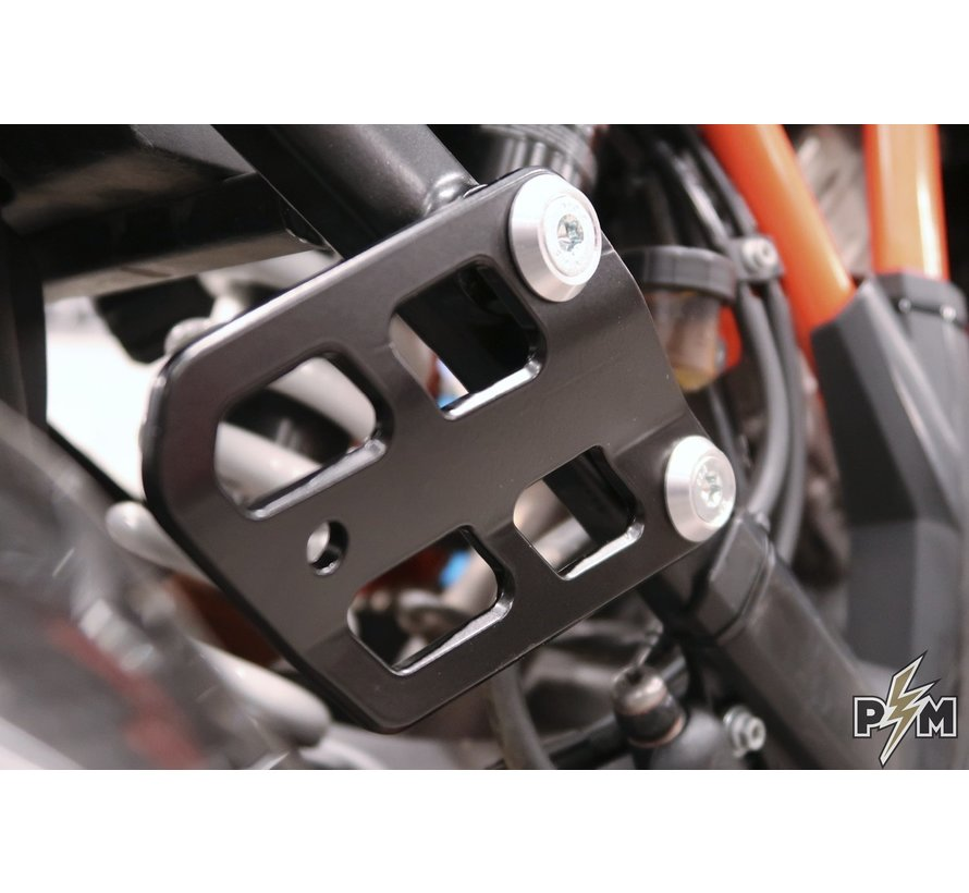 Perun Moto KTM 1X90 Lower side brackets