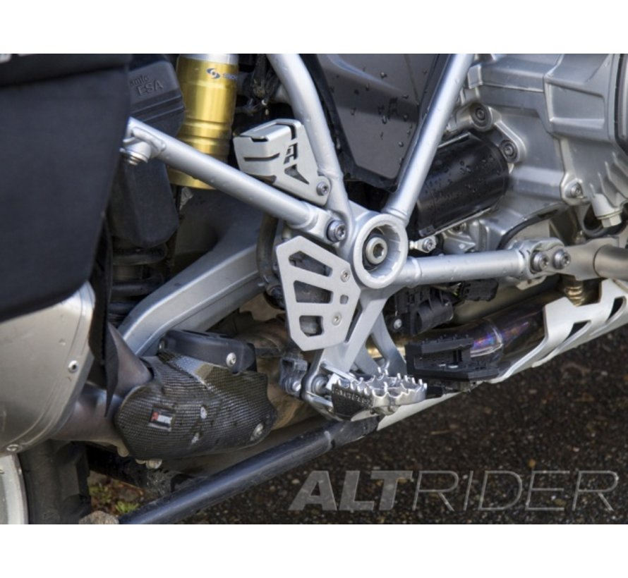 AltRider Rear Brake Master Cylinder Guard for the BMW R 1200 & R 1250 GS /GSA Water Cooled