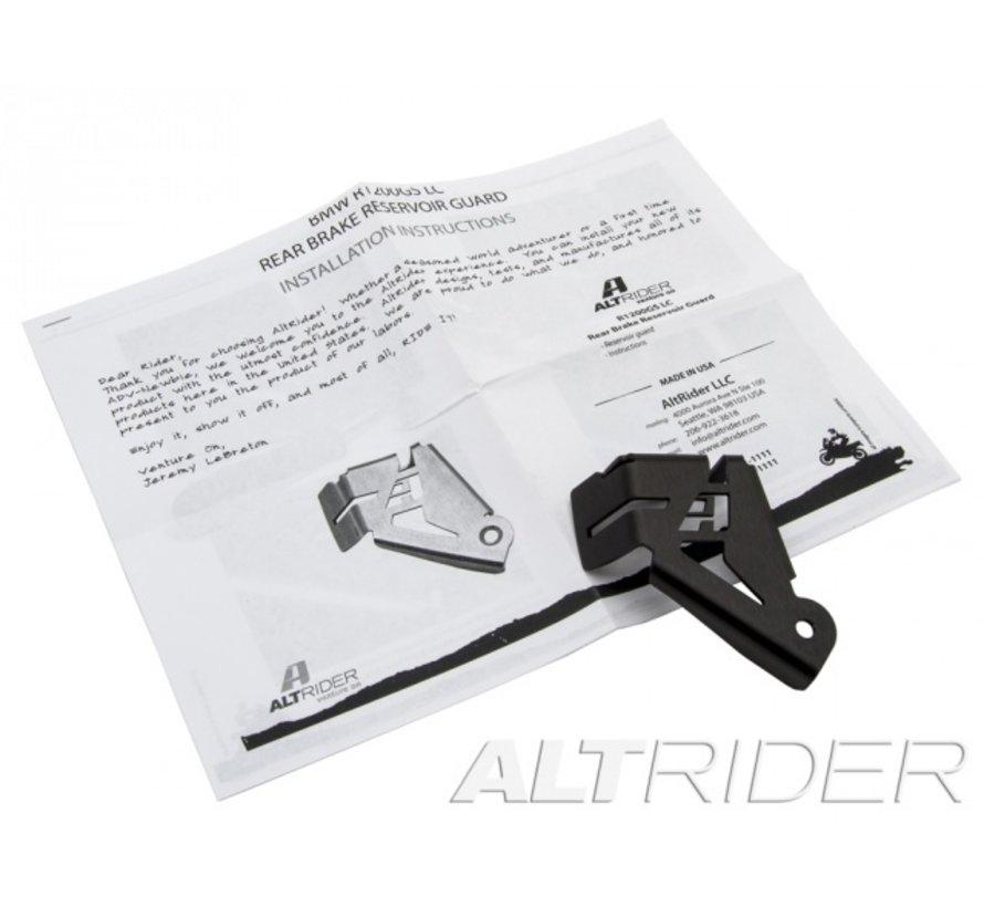 AltRider Rear Brake Reservoir Guard voor de BMW R 1200 & R 1250 GS /GSA LC