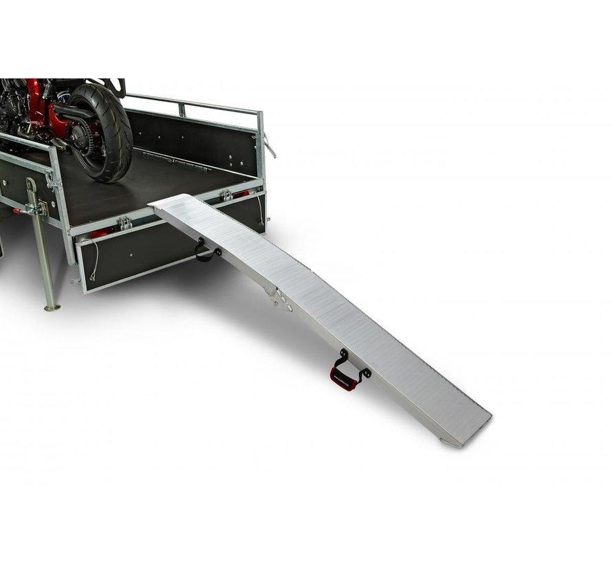 Plooibare Oprijplaat - Heavy Duty met handvat - Model F 680kg