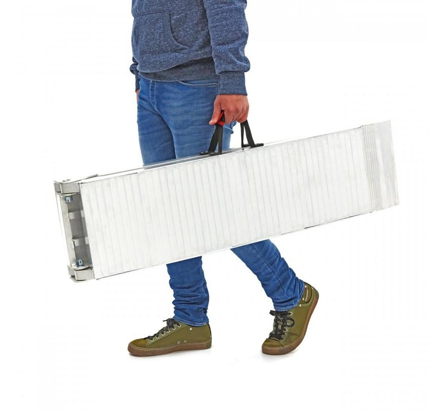 Foldable Ramp - Heavy Duty with Handle - Model F 680kg