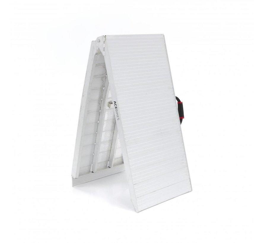 Foldable ramp Heavy-Duty Extra Wide - Model E 500kg