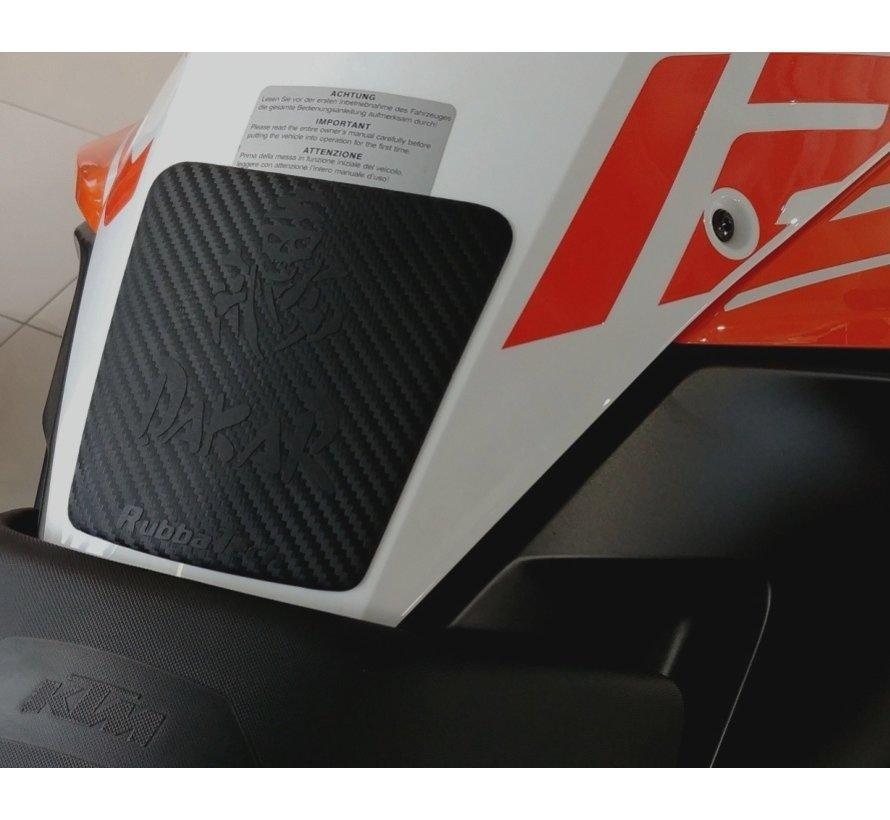 RubbaTech - Tank Pad Dakar Skull (BMW & KTM)