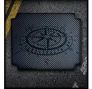 RubbaTech RubbaTech - Topkoffer Pad voor BMW Aluminium Original Topkoffer