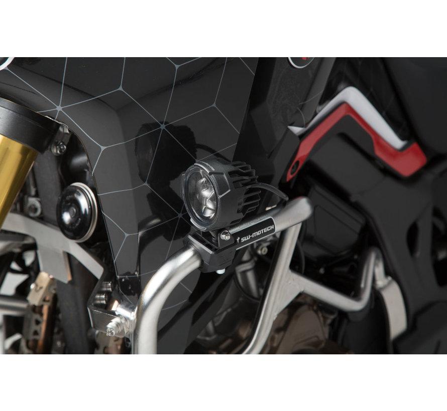 SW-Motech Montageklemmen voor Schijnwerpers/Mistlampenset Op Valbeugel 21,7/26/27,2/28,3 mm