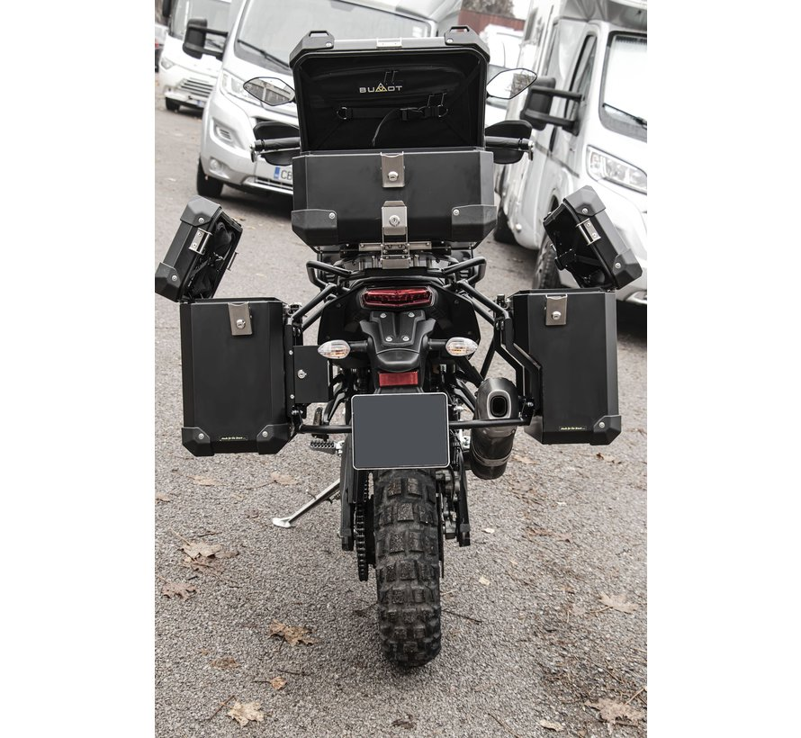 BUMOT Defender EVO zijkoffersysteem voor de Yamaha XT700 - T7