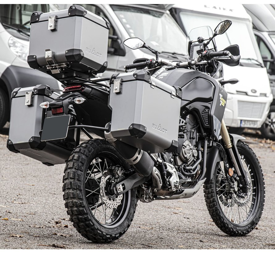 BUMOT Defender EVO panniersystem for the Yamaha XT700 - T7