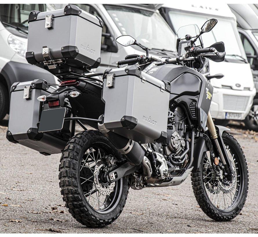 BUMOT Defender EVO Topkoffer met bevestigingsrek voor Yamaha XT700 - T7