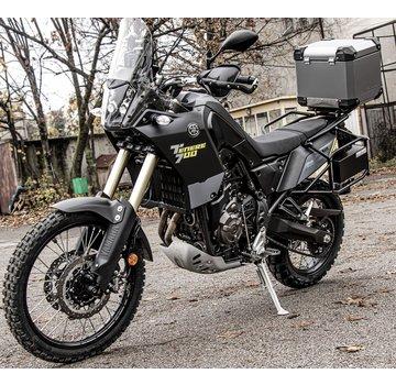 BUMOT BUMOT Defender EVO Topkoffer met bevestigingsrek voor Yamaha XT700 - T7