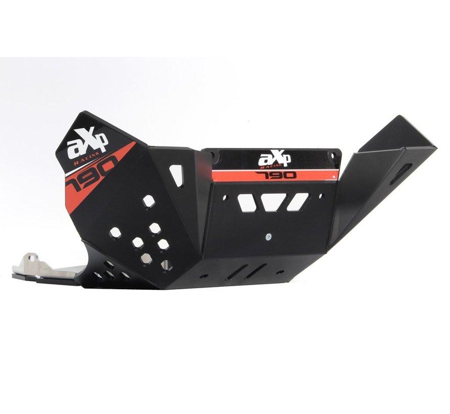 AXP Racing KTM 790 Adventure R / S Bodemplaat / Carterplaat / Skidplate Zwart
