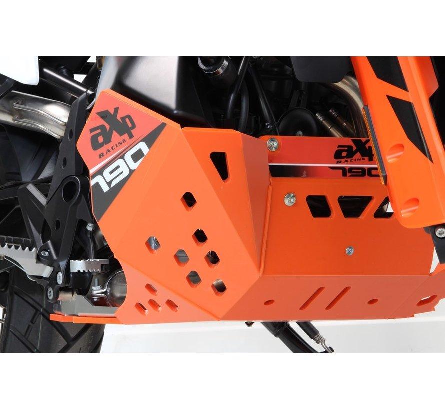 AXP Racing KTM 790 Adventure R / S Skidplate / Bashplate Black - Orange