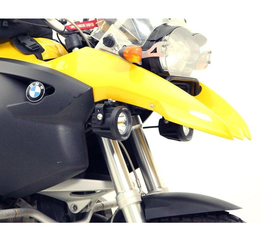 Driving Light Mount - BMW R1200GS '04-'12 & R1200GSA '05-'13