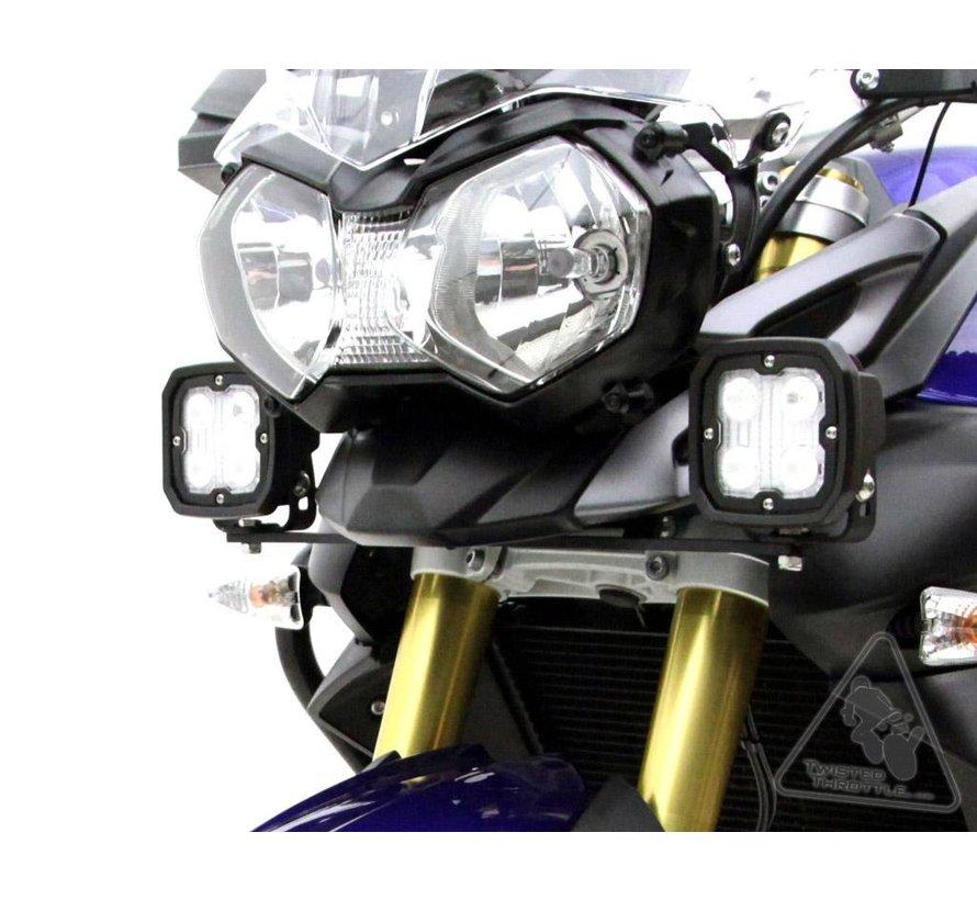 Denali Rijlicht Beugel - Triumph Tiger 800 XC '10-'14 & Tiger 800 XCx, XR, XRx '15-'18