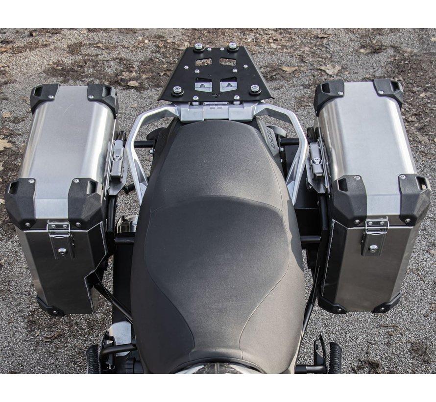 BUMOT Defender EVO zijkoffersysteem voor de Suzuki DL 650 2017+